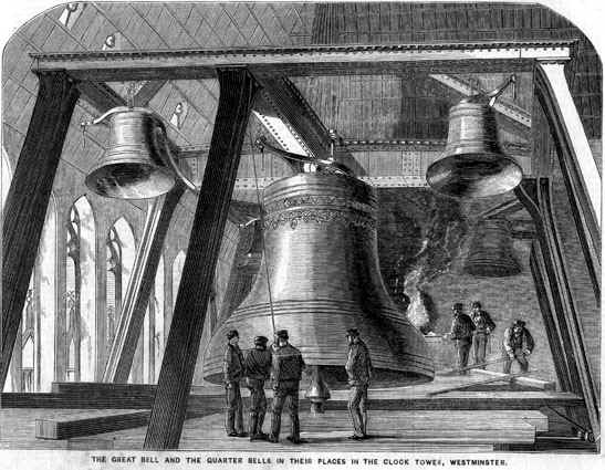 The New Big Ben Bell 1858